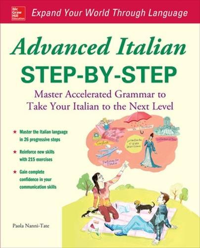 Advanced Italian Step-by-Step (Paperback)