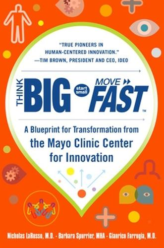 Think Big, Start Small, Move Fast: A Blueprint for Transformation from the Mayo Clinic Center for Innovation (Hardback)