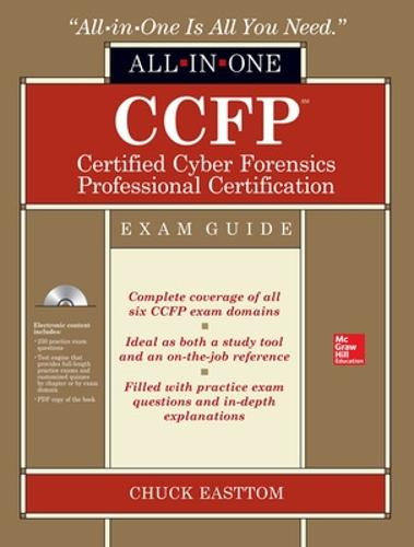 CCFP Certified Cyber Forensics Professional All-in-One Exam Guide - All-in-One (Book)