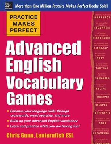 Practice Makes Perfect Advanced English Vocabulary Games - Practice Makes Perfect Series (Paperback)