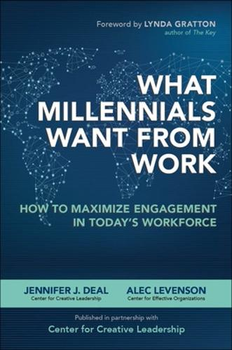 What Millennials Want from Work: How to Maximize Engagement in Today's Workforce (Hardback)