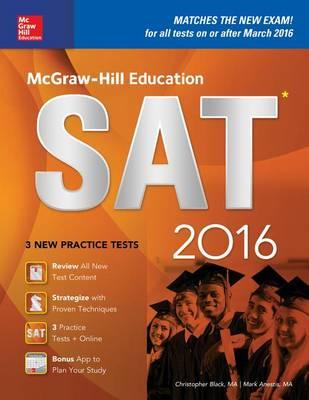 McGraw-Hill Education SAT 2016 (Paperback)