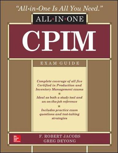 CPIM All-In-One Exam Guide (Hardback)