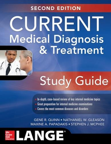 CURRENT Medical Diagnosis and Treatment Study Guide, 2E (Paperback)