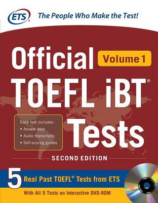 Official TOEFL iBT (R) Tests Volume 1 (Book)