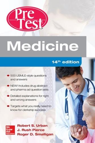 Medicine PreTest Self-Assessment and Review, Fourteenth Edition - PreTest (Paperback)