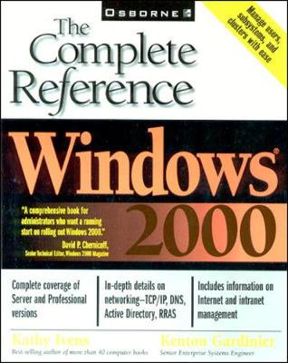 Windows 2000: The Complete Reference (Paperback)