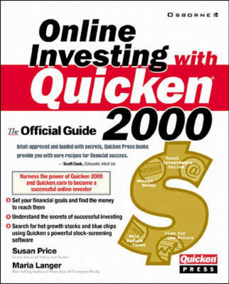 Online Investing with Quicken 2000: The Official Guide - Quicken Press (Paperback)