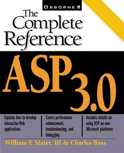 Asp 3.0: the Complete Reference (Paperback)