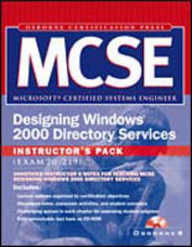 Mcse Designing Windows 2000 Directory Services Instructor's Pack (Paperback)