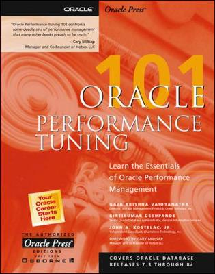 Oracle Performance Tuning 101 - Oracle Press 101 S. (Paperback)