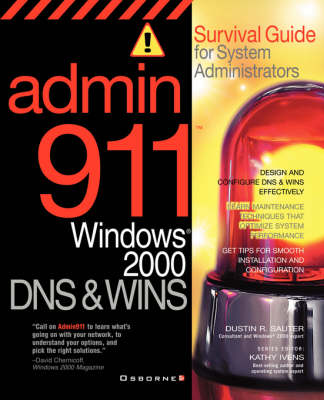 DNS and WINS: Survival Guide for System Administrators - Admin911 Series (Paperback)