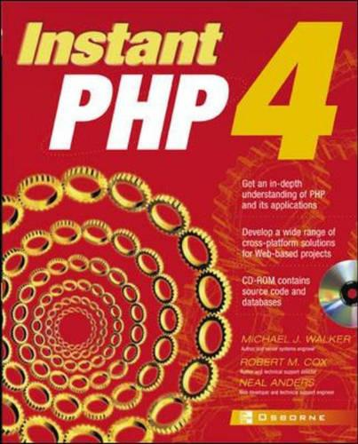 Instant PHP4 - Application Development S.