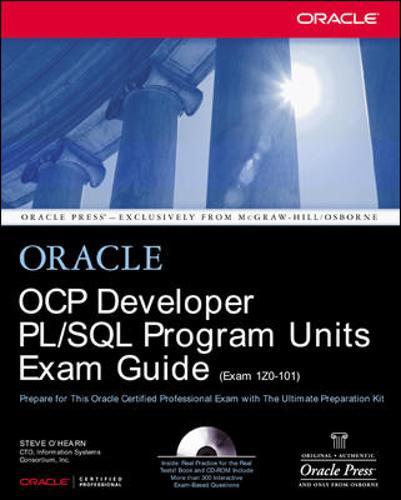 OCP Developer PL/SQL Program Units Exam Guide - Oracle Press