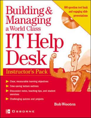 Instructor's Manual: Im Build Man World it Help Desk Inst Pk (Paperback)