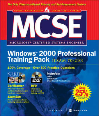 MCSE Windows 2000 Professional Training Pack (Exam 70-210) - Certification Press S.