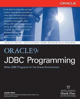 Oracle9i JDBC Programming - Oracle Press Series (Paperback)