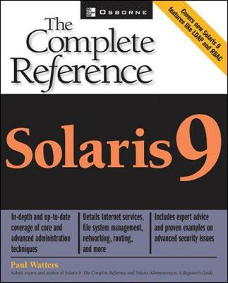 Solaris 9: The Complete Reference - The Complete Reference (Paperback)