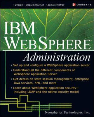 IBM Websphere Administration - McGraw Hill/Osborne networking (Paperback)