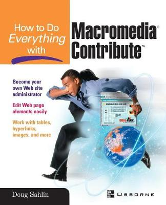 How to Do Everything with Macromedia Contribute (Paperback)