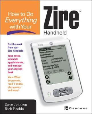 How to Do Everything with Your Zire Handheld - How to Do Everything (Paperback)
