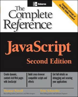 JavaScript: The Complete Reference - Osborne Complete Reference Series (Paperback)