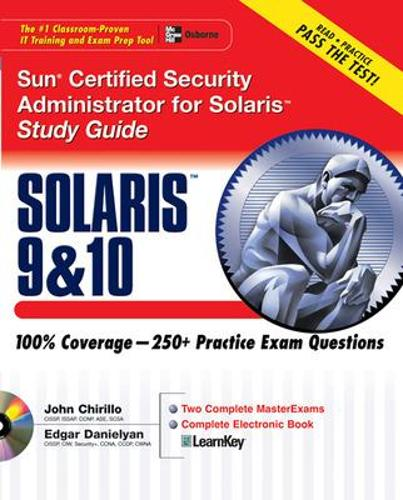 Sun Certified Security Administrator for Solaris 9 & 10 Study Guide - Certification Press (Paperback)
