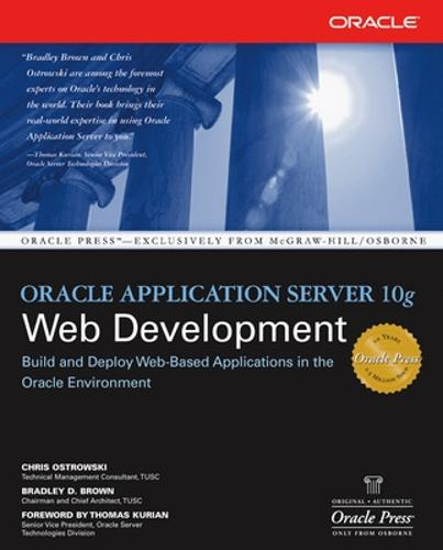 Oracle Application Server 10g Web Development - Oracle Press (Paperback)