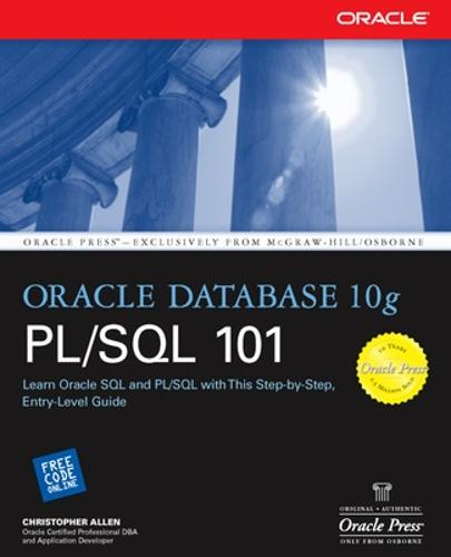 Oracle Database 10g PL/SQL 101 - Oracle Press (Paperback)