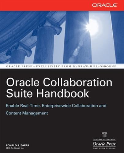 Oracle Collaboration Suite Handbook - Oracle Press (Paperback)