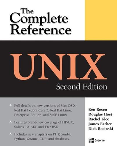 UNIX: The Complete Reference, Second Edition (Paperback)