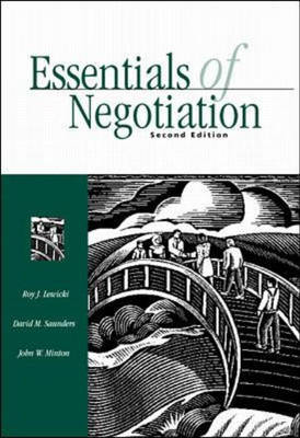 Essentials of Negotiation (Paperback)