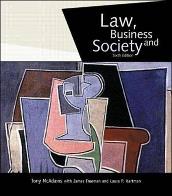 Law, Business, and Society (Hardback)