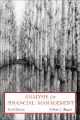 Analysis for Financial Management (Paperback)
