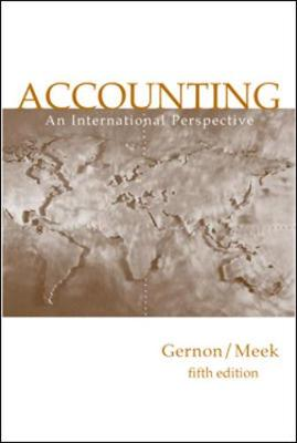 Accounting: An International Perspective (Paperback)