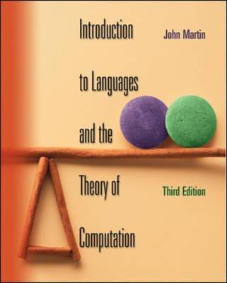 Introduction to Languages and the Theory of Computation (Hardback)
