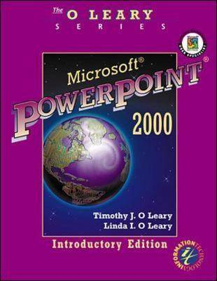 Microsoft PowerPoint 2000: Introductory Edition - O'Leary Series (Paperback)