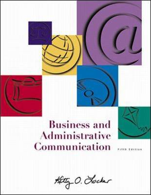 Business and Administrative Communication: AND Student Toolbox