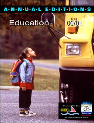 Education 2000/2001 - Annual Editions (Paperback)