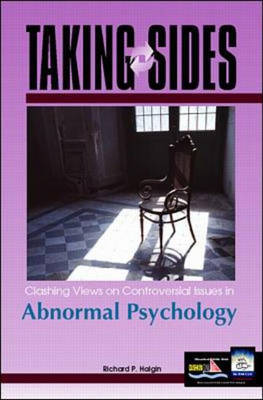 Clashing Views on Controversial Issues in Abnormal Psychology - Taking Sides (Paperback)