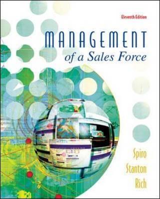 Management of a Sales Force (Hardback)