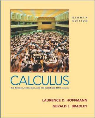 Calculus for Business, Economics and the Social and Life Sciences (Hardback)