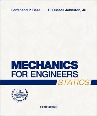 Mechanics for Engineers, Statics (Hardback)