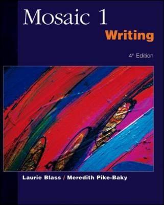 Mosaic Writing: Student Book Bk. 1 (Paperback)