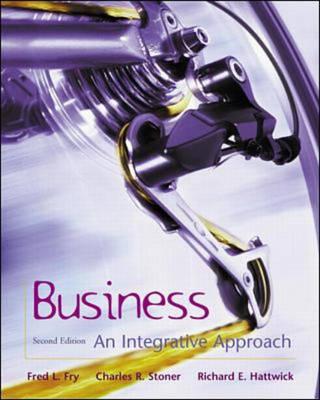 Business an Integrative Framework (Hardback)