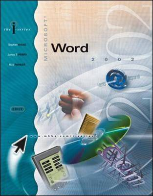 Microsoft Word 2002 - I-series (Paperback)