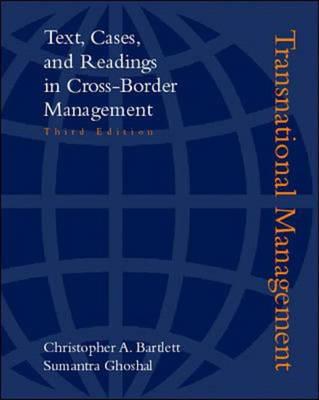 Transnational Management (Hardback)