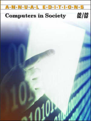 Computers in Society - Annual Editions (Paperback)