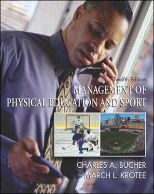 Management of Physical Education and Sport: With PowerWeb: Health and Human Performance (Hardback)