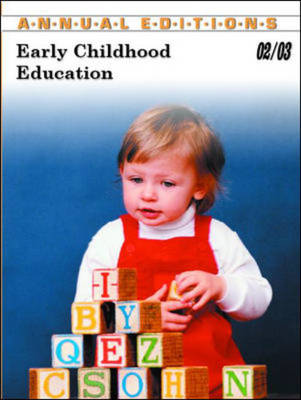 Early Childhood Education 2002/2003 - Annual Editions (Paperback)